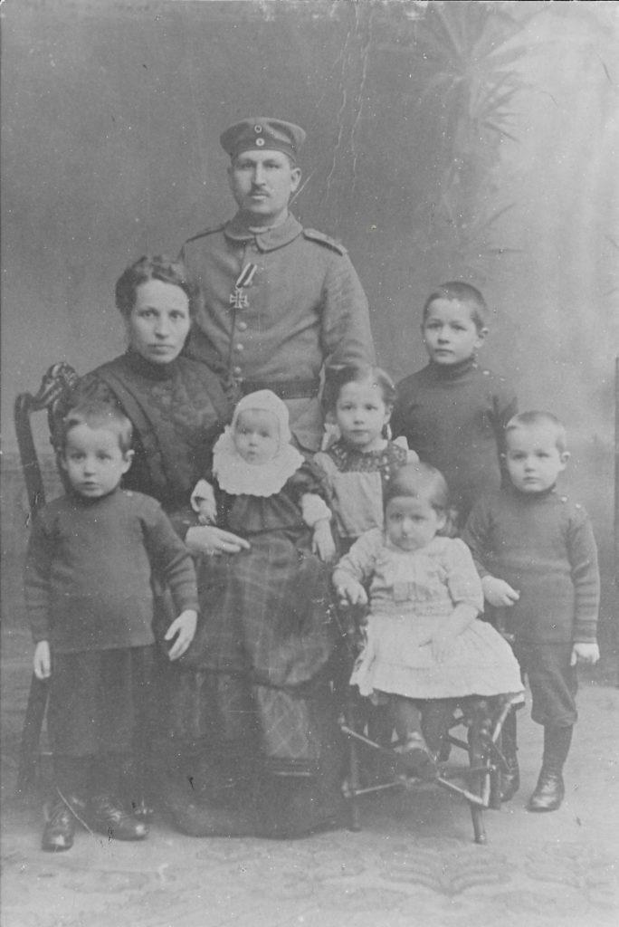 Familie Klopschinski 1914